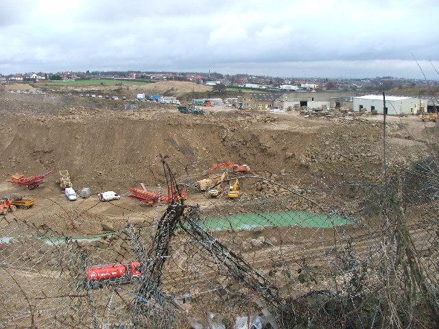 Britannia stone quarry.