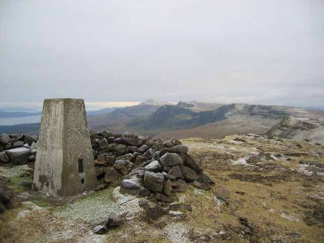 Beinn Edra Summit