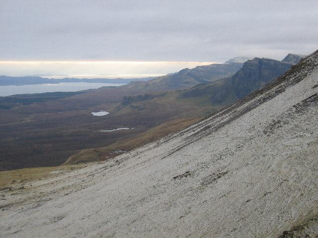 The East Face of Beinn Mheadhonach