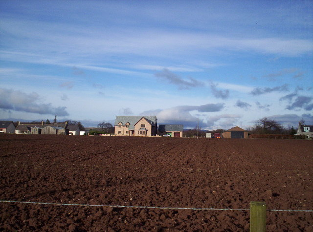 Newish House in Little Brechin