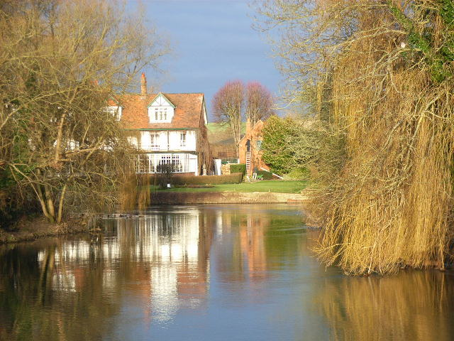 Backwater of the Thames at Sonning