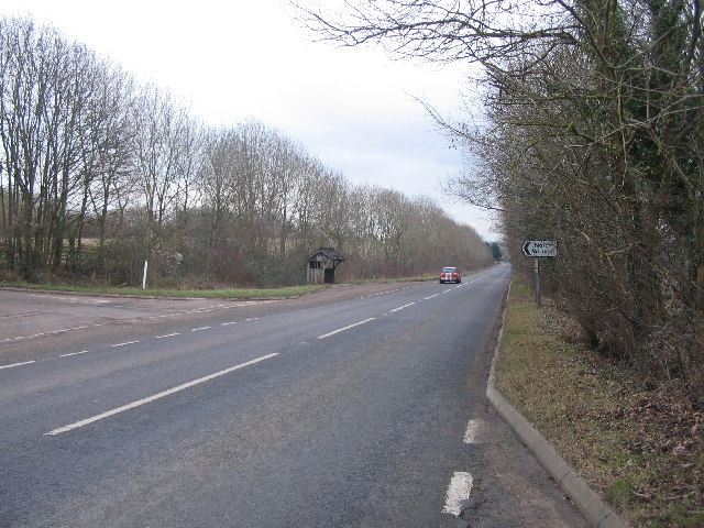 A420 approaching Ford