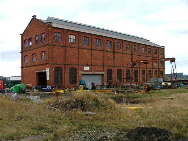 Former British Steel Britannia Test House