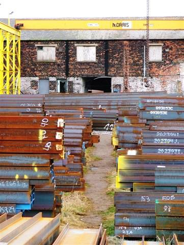Steel Stockyard