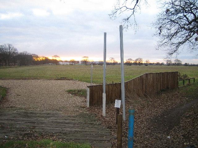 Field from Newark Road