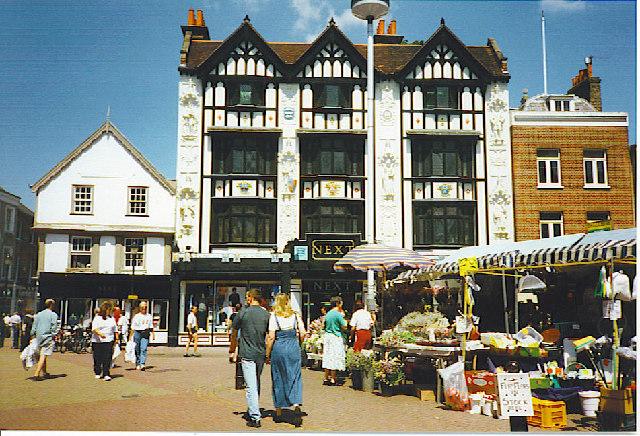 Tudor shopping in Kingston-upon-Thames