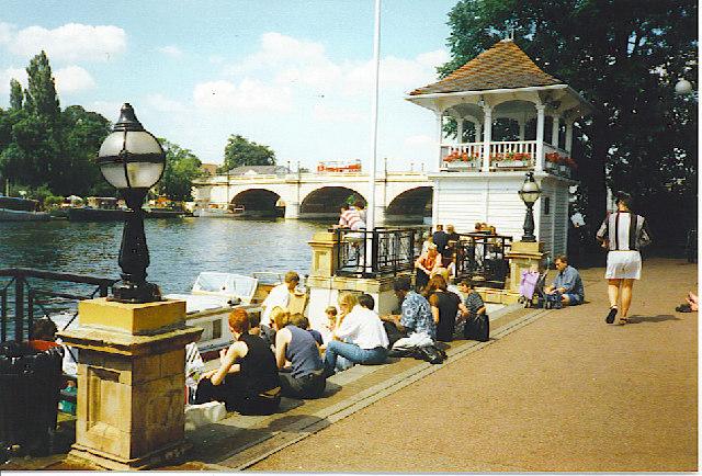 The Thames at Kingston Bridge