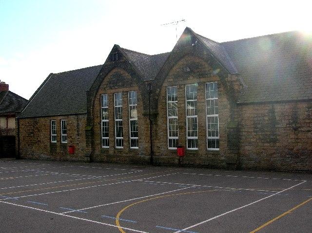 Eckington Junior School in NE Derbyshire.