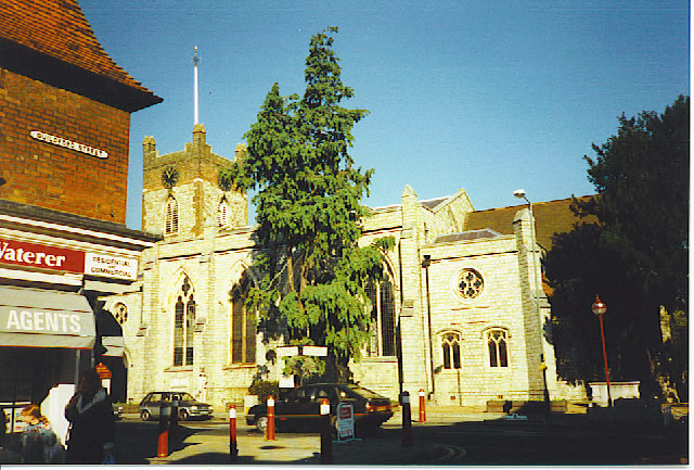 Chertsey Parish Church.