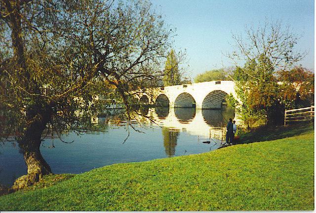 Chertsey Bridge.