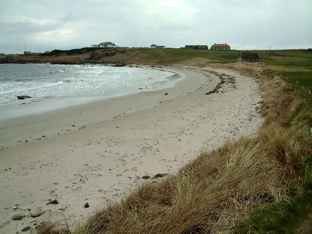 Balcomie beach
