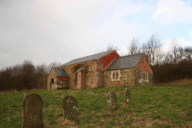 St.John the Baptist's church, Sutterby, Lincs.
