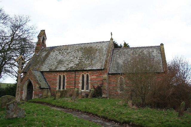 St.Philip's church, Brinkhill, Lincs.