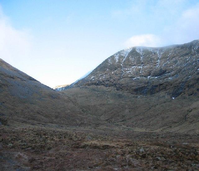 Upper Coire Giubhsachan