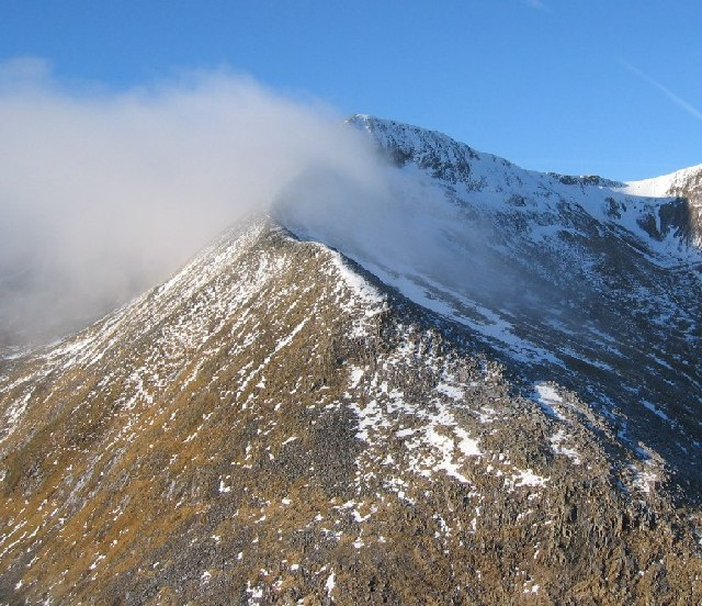 Eastern Arete of Carn Mor Dearg