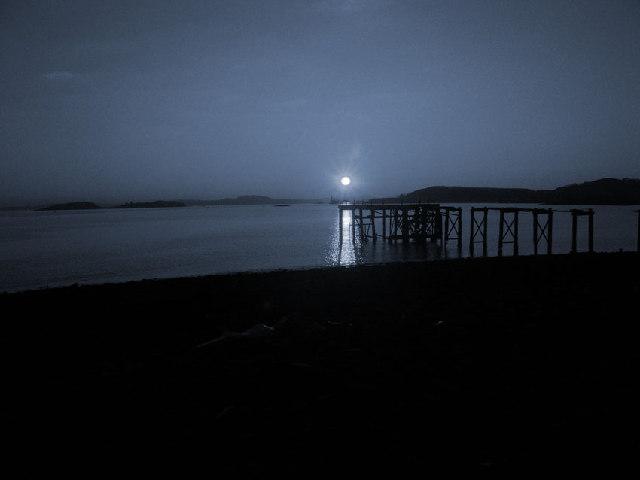 Hawkcraig Pier, Aberdour