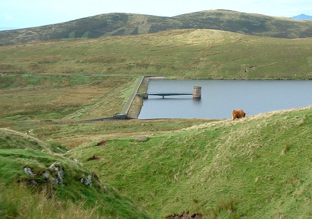 Knockendon Reservoir Embankment
