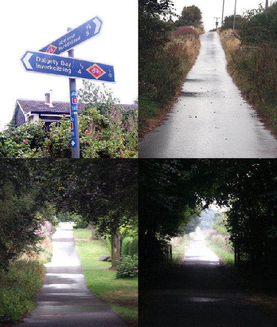 Crossroads and Signpost, Dalgety Bay