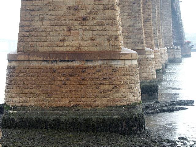 The Mighty Pillars of the Forth Rail Bridge