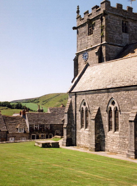 Church in Corfe Castle Village