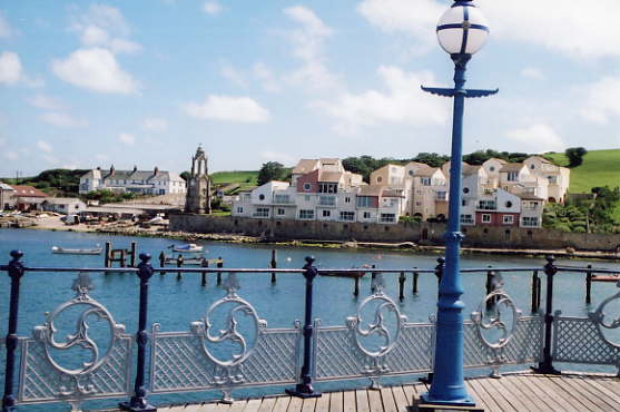 Yacht Marina development Swanage from pier
