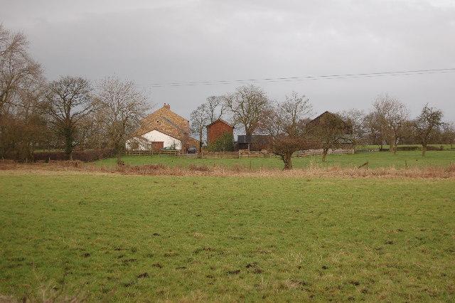 Old farmhouse near Danson Hill