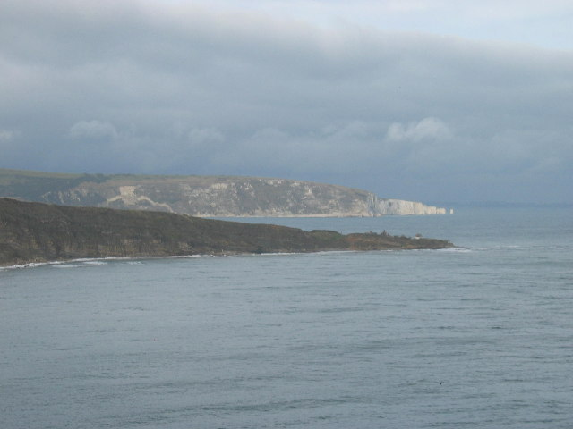 Peveril Point and Ballard Point from Durlston Head