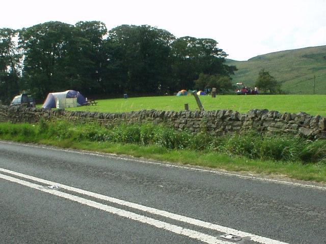 Winshields campsite, near Hadrian's Wall