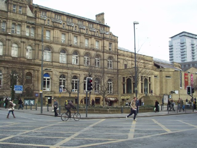 Leeds Central Library, The Headrow, Leeds