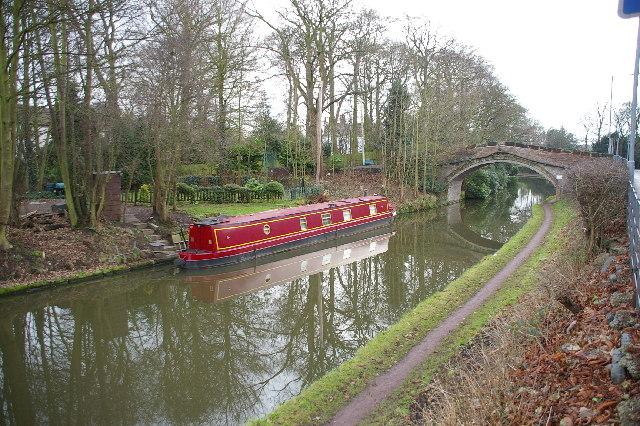 Bridgewater Canal at Moore
