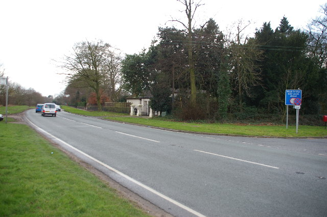 Junction of the A56 and Hobb Lane