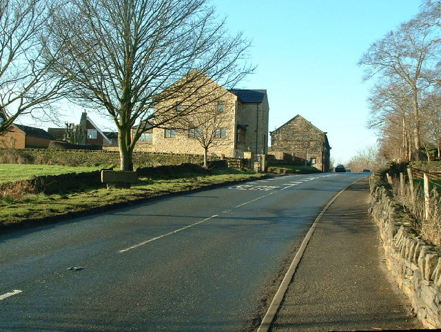 Coming into West Bretton