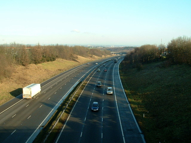 M1 Looking North