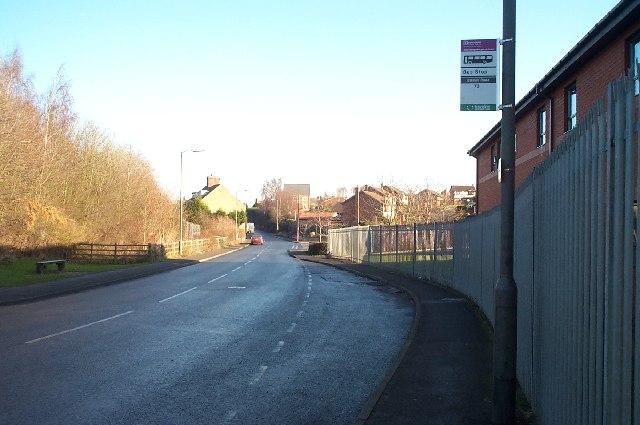 Bus Stop, Station Road, Clowne