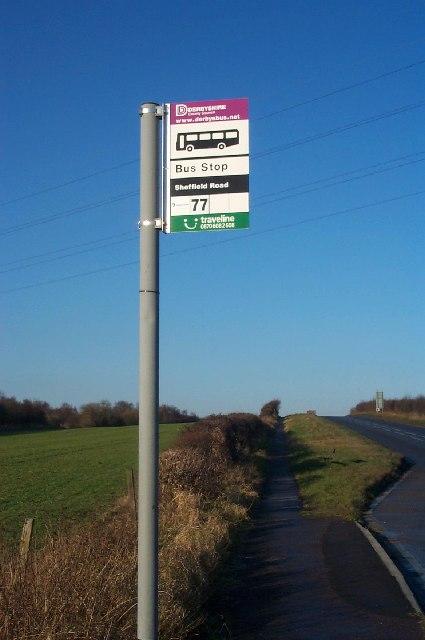 Bus Stop, Sheffield Road
