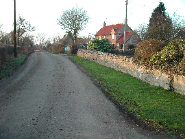 The hamlet of Kenn Moor Gate