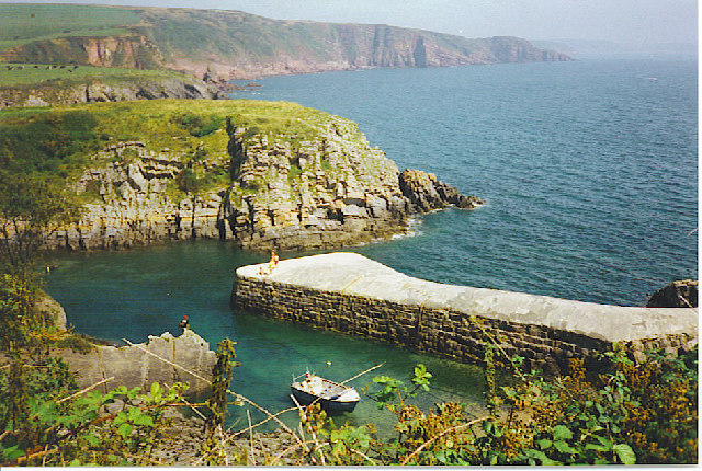 Stackpole Quay and Cliffs.