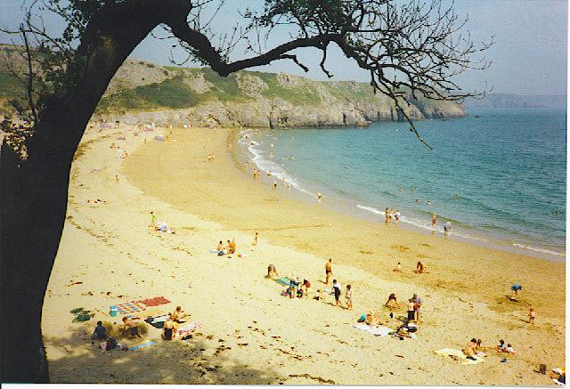 Barafundle Bay.