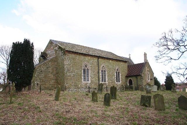St.Peter & St.Paul's church, Belchford, Lincs.