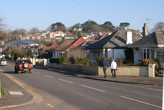 Bungalow Housing on the southern edge of St Austell
