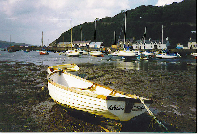 Low Tide at Lower Town, Fishguard.