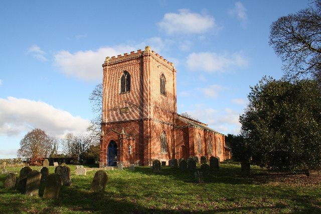 St.Swithin's church, Baumber, Lincs.