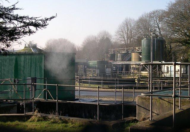 Sewage Works near Tregorrick
