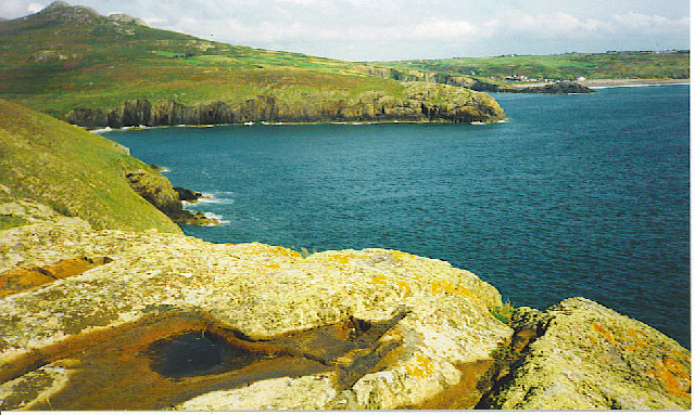 Looking east from St David's Head.