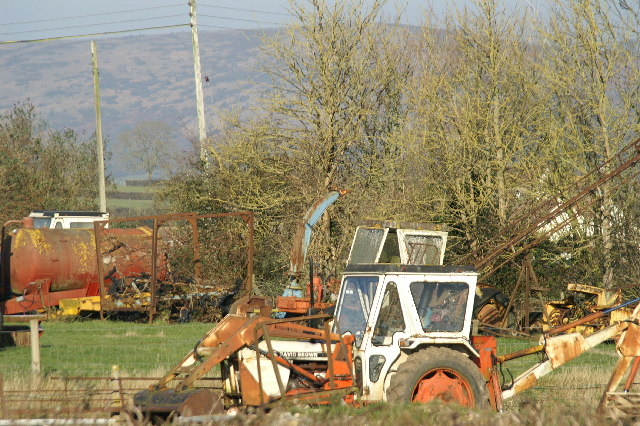 Farmyard machinery graveyard! Alston Sutton