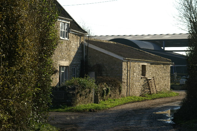 Cottage Farm by Brinscombe Hill