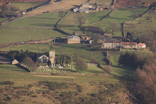 St Hildas and Church House (farm)