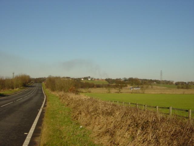 Hall Lane bridge over the M62