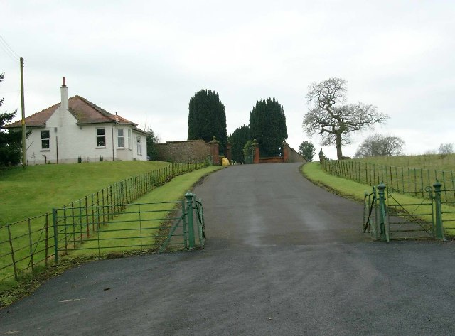 Entrance to Newmilns Cemetery