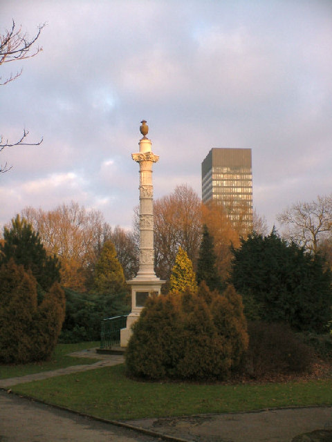 Godfrey Sykes Memorial, Weston Park